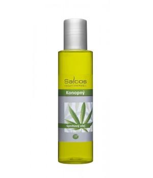 Saloos BIO Shower Oil Hemp - Olje za prhanje Konoplja 125ml