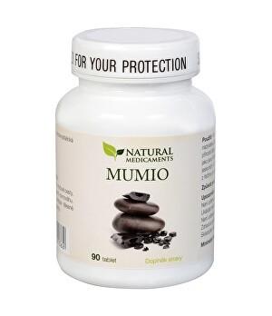 Natural Medicaments Mumio (Mumie) 250mg - pozitiven vpliv na celotni organizem, 90 tablet