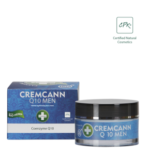 Annabis Cremcann Q10 Men naravna konopljina krema za obraz za moške 50ml