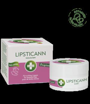 Annabis Lipsticann konopljin balzam za ustnice s čebeljim voskom 15ml