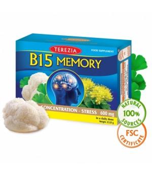 Terezia B15 Memory - spomin, 60 kapsul