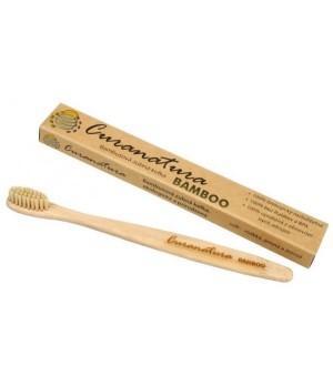 Curanatura Bamboo extra soft zobna ščetka iz bambusa