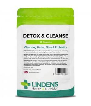 Lindens Detox & Cleanse – Razstrupljanje in čiščenje 90 kapsul