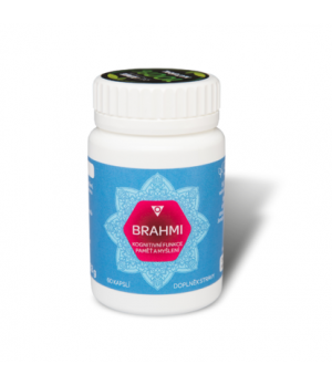 Aimil BRAHMI 400mg - Ajurveda spomin, kognitivne miselne funkcije, 60 kapsul