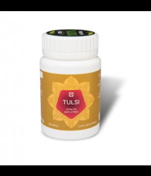 Aimil TULSI 400mg - Ajurveda vitalnost, anti-stres, 60 kapsul