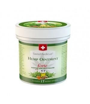 Herbamedicus Hemp ointment Forte - konopljino mazilo, 125ml