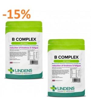 """2x 100 tablet Lindens Vitamin B Complex - """"PROTI UTRUJENOSTI IN POMANJKANJU ENERGIJE"""""""