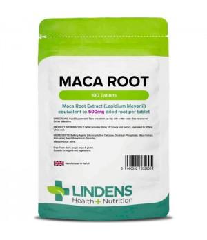 Lindens Maca Root - Maca 500 mg, 100 tablet