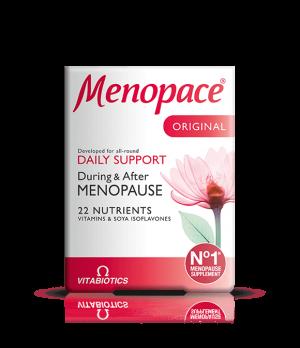 Vitabiotics Menopace - vsakodnevna podpora med in po menopavzi, 30 tablet