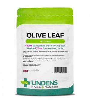 Lindens Olive Leaf - izvleček oljčnih listov (27mg oleuropein), 60 tablet