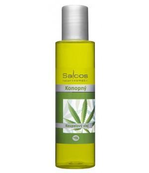 Saloos BIO Bath Oil Hemp - Olje za kopeli Konoplja 125ml