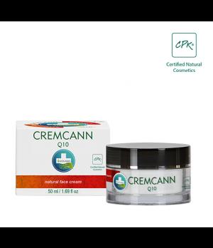 Annabis Cremcann Q10 konopljina bioaktivna krema za obraz za zrelo in suho kožo 50ml
