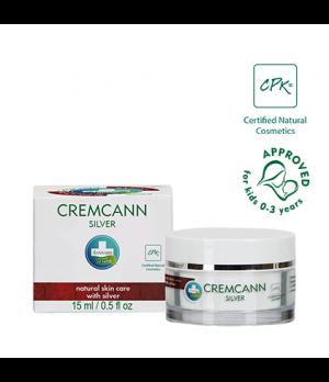 Annabis Cremcann Silver bioaktivna konopljina krema s koloidnim srebrom za nego mozoljaste kože 15ml