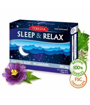 Terezia Sleep & Relax - miren spanec in sprostitev, 60 kapsul