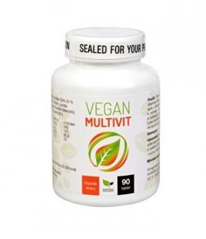 Natural Medicaments Vegan Multivit - za vegane in vegetarijance 90 tablet