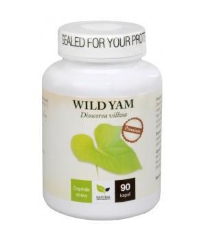 Natural Medicaments Wild Yam Premium – Divji jam – boljše počutje v menopavzi 90 kapsul