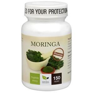 Natural Medicaments Moringa Premium - prispeva ohranjati normalno raven sladkorja v krvi, 150 tablet